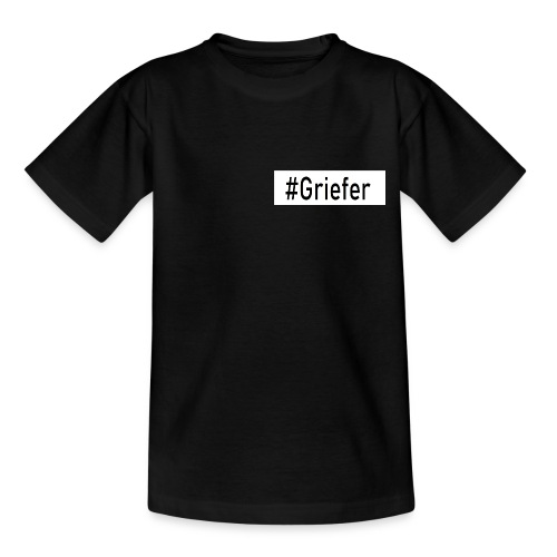 LIMITED Contrast #Griefer Tag Shirt I Teenager - Teenager T-Shirt