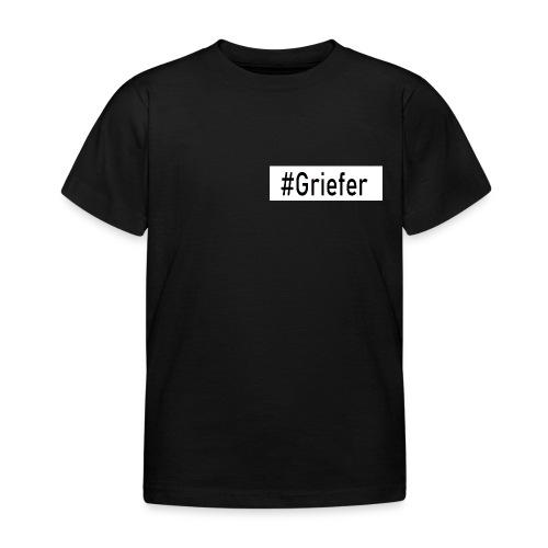 LIMITED Contrast #Griefer Tag Shirt I Kinder - Kinder T-Shirt