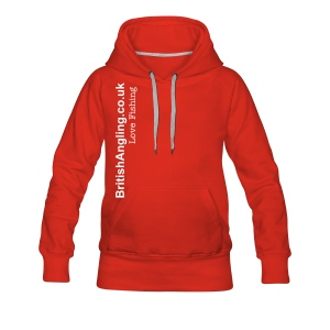 Ladies BritishAngling.co.uk / Love Fishing Hoodie - Women's Premium Hoodie