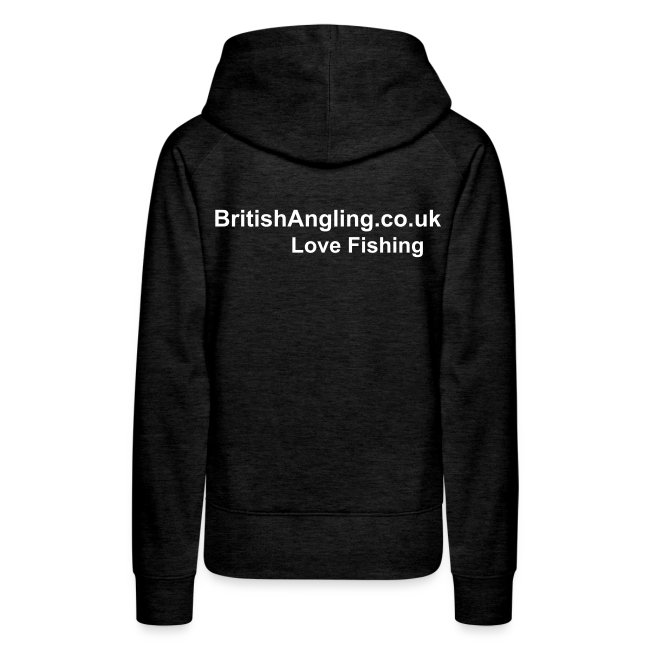 Ladies BritishAngling.co.uk / Love Fishing Hoodie