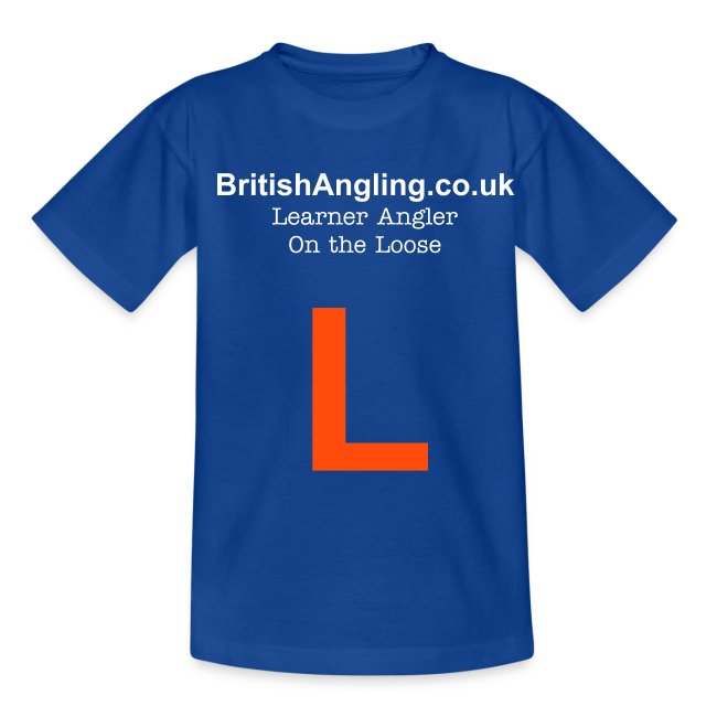 KidsBritishAngling.co.uk / Learner Angler T-Shirt