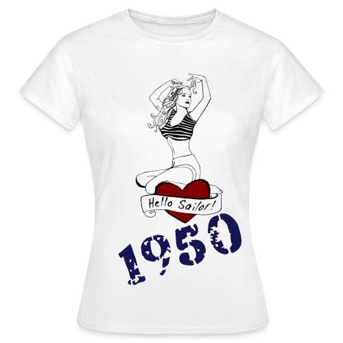 Nautical. 50s. - Women's T-Shirt