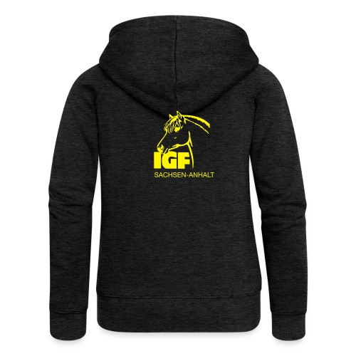 IGF Jacke - Frauen Premium Kapuzenjacke