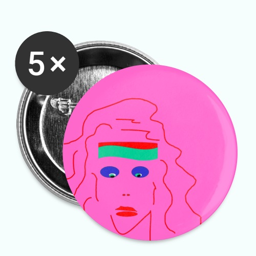 girl's - Buttons large 2.2''/56 mm(5-pack)