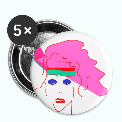 pink floyd - Buttons large 2.2''/56 mm(5-pack)