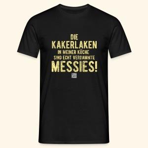 Kakerlake - Männer T-Shirt