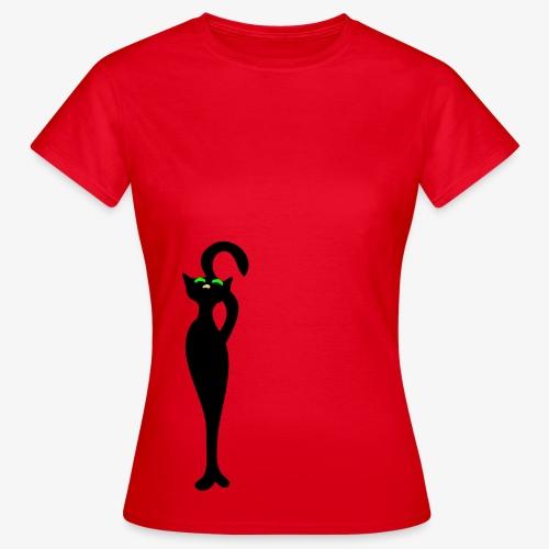 Retro cat Meow by Patjila - Women's T-Shirt