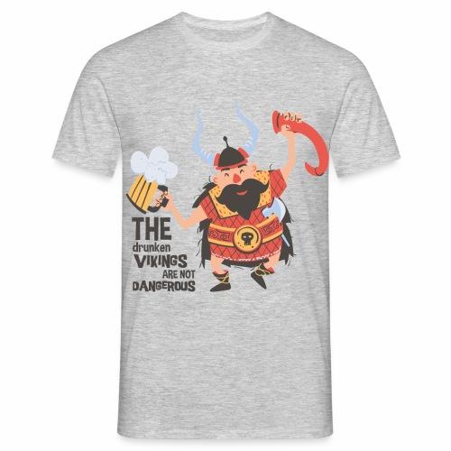 Drunken Vikings - Männer T-Shirt