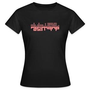 tee-shirt girl electro dubwise - Women's T-Shirt