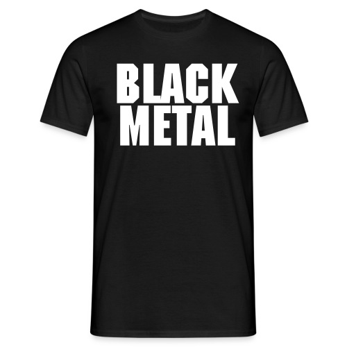 Black Metal - Männer T-Shirt
