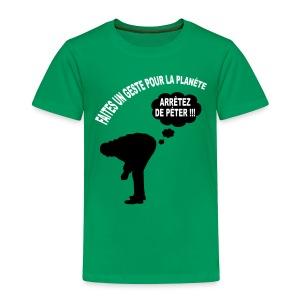 Ecologie humour - T-shirt Premium Enfant