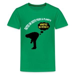 Ecologie humour - T-shirt Premium Ado