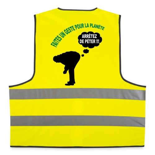 Ecologie humour - Gilet de sécurité