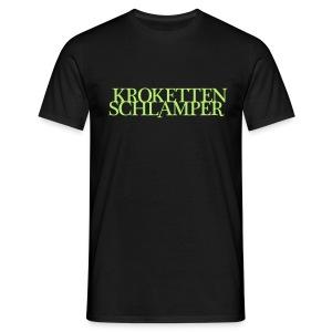 Krokettenschlamper - Männer T-Shirt