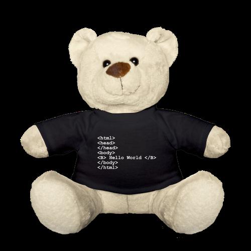 HTML Bär - Teddy
