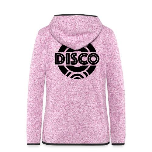 Disco !!! - Frauen Kapuzen-Fleecejacke