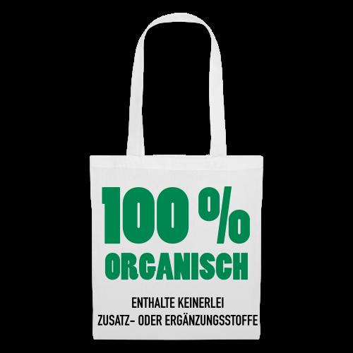 100% Organisch - Stoffbeutel