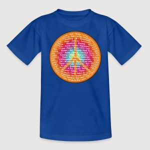 WORLD OF PEACE 2 | Frieden in verschiedenen Sprachen - Teenager T-Shirt