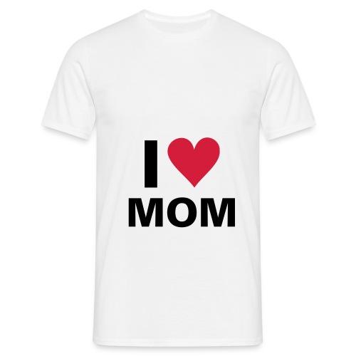 elskermamma - T-skjorte for menn