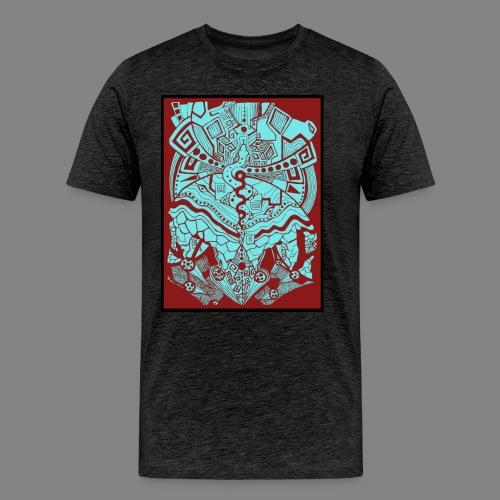 Schlangenvision - Männer Premium T-Shirt