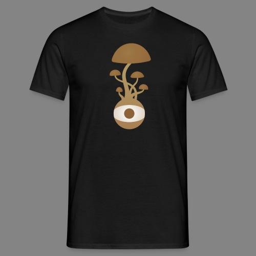 Pilzauge - Männer T-Shirt