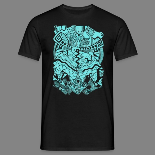 Psychedelic Map - Männer T-Shirt