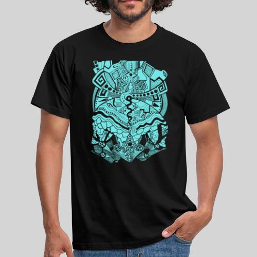 Psychedelic Map - Männer T-Shirt