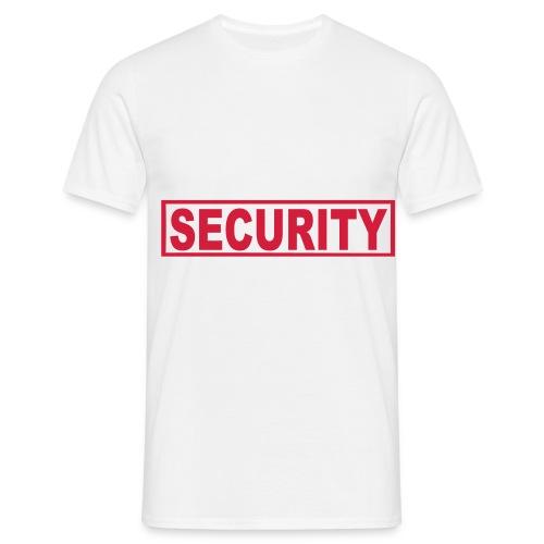 sikkerhet - T-skjorte for menn