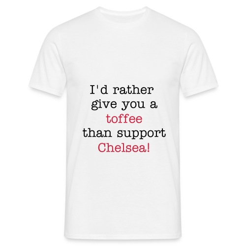 anti-chelsea - T-skjorte for menn