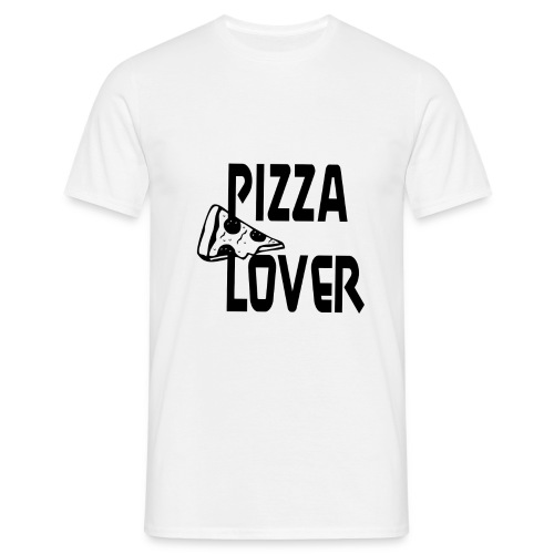 Pizza Lover [Black] - Männer T-Shirt