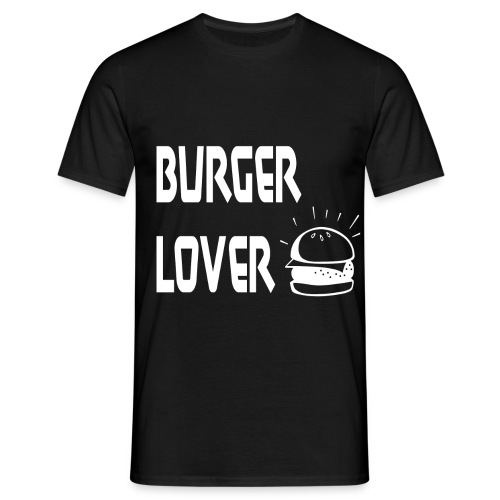 Burger Lover [White] - Männer T-Shirt