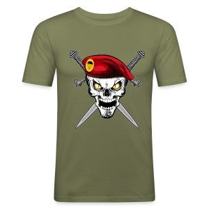 Parachutiste - Tee shirt près du corps Homme