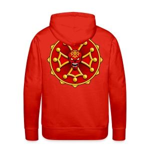 Croix Occitane - Sweat-shirt à capuche Premium pour hommes