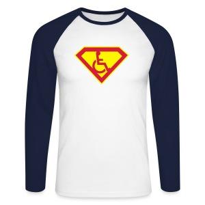 Superhero - Men's Long Sleeve Baseball T-Shirt