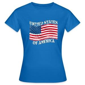 USA United States - T-shirt Femme