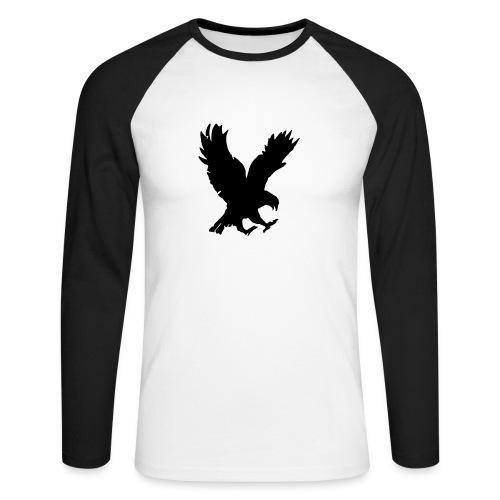 Eagle chest - Men's Long Sleeve Baseball T-Shirt