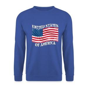 USA United States - Sweat-shirt Homme