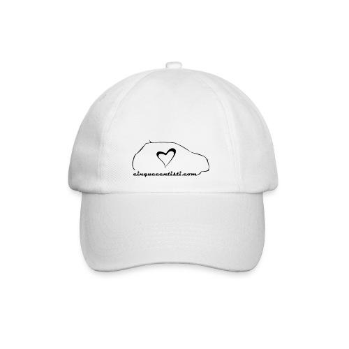 Cappellino bianco - Cappello con visiera
