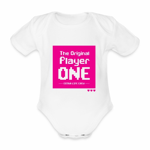 The Original Player One baby body - Organic Short-sleeved Baby Bodysuit