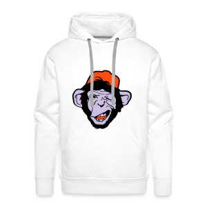 chimp - design - Men's Premium Hoodie