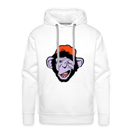 chimp - design - Men's Premium Hoodie