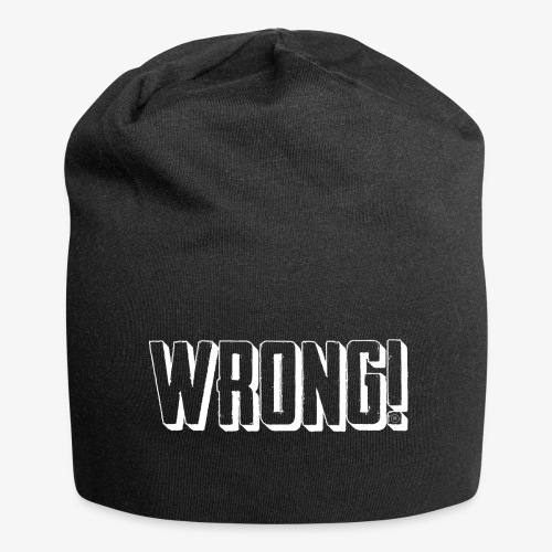 Wrong! beanie - Jersey Beanie