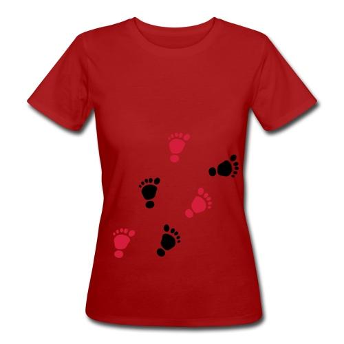 Baby Füße - Frauen Bio-T-Shirt