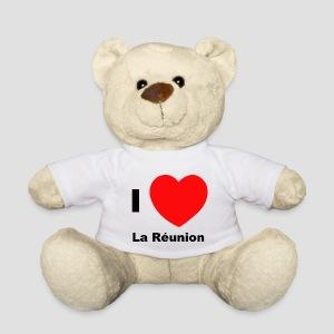 Nounours i love Réunion - Nounours