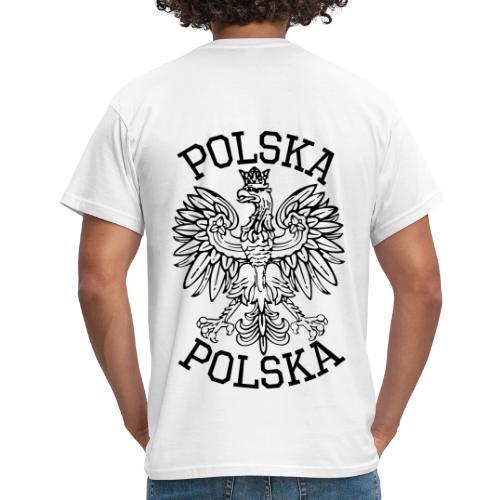 Männer T-Shirt Polska hinten - Männer T-Shirt