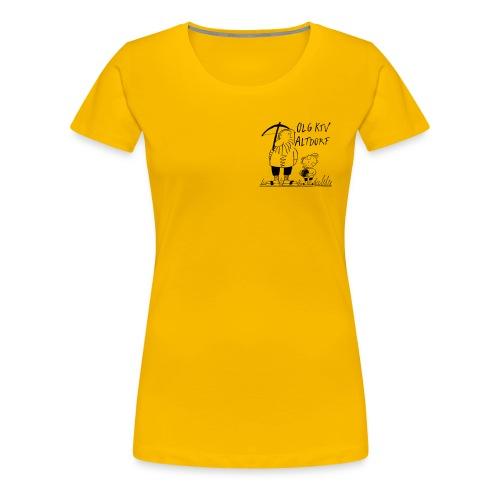 Girlie kleines Logo - Frauen Premium T-Shirt