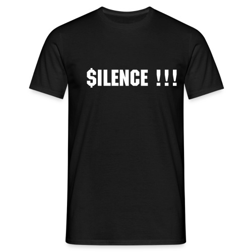 silence black edition II - T-shirt Homme