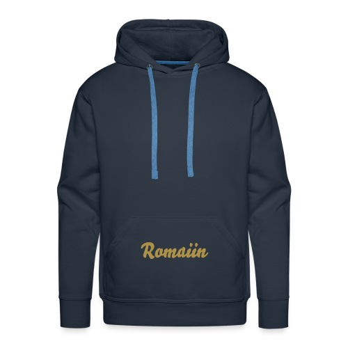 Romaiin Pull Basic Or - Sweat-shirt à capuche Premium pour hommes