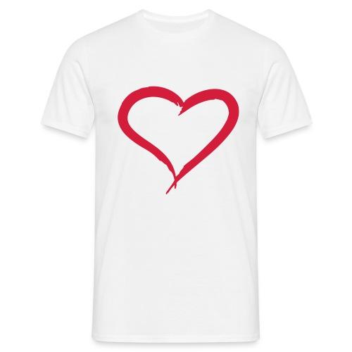 Coeur - T-shirt Homme