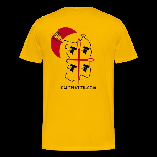 SARDINIA - LessWorkMoreKite - Maglietta Premium da uomo